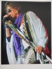 Steven Tyler Signed Aerosmith Authentic Autographed 11x14 Photo PSA/DNA #S23148