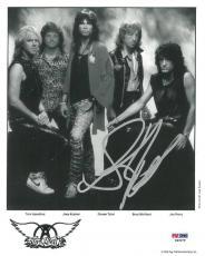 Steven Tyler Signed Aerosmith Authentic Autographed 8x10 Photo (PSA/DNA) #P49279