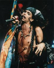 STEVEN TYLER signed (AEROSMITH) MUSIC LEGEND 8X10 photo *DREAM ON* W/COA #1