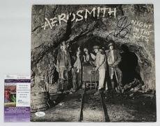 Steven Tyler Signed Aerosmith Night In The Ruts Record Album Jsa Coa K42293
