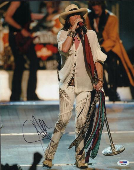 Steven Tyler Signed Aerosmith Rock N Roll 11x14 Photo w/PSA DNA S82686