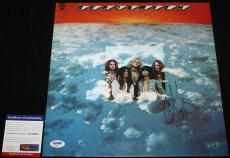 Steven Tyler signed Album, Aerosmith, Dream On, Pump, Get Your Wings, PSA/DNA