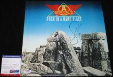 Steven Tyler signed Album, Rock in a Hard Place, Aerosmith, Get a Grip, PSA/DNA