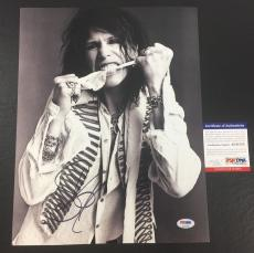 Steven Tyler Signed Auto Aerosmith Permanent Vacation 11x14 Photo Psa/dna Coa 2