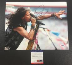 Steven Tyler Signed Auto Aerosmith Rocks 'on Stage' 11x14 Photo Psa/dna Coa 2