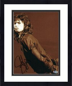 STEVEN TYLER SIGNED AUTOGRAPH 11x14 PHOTO - AEROSMITH LEGEND, JOE PERRY STUD LIV