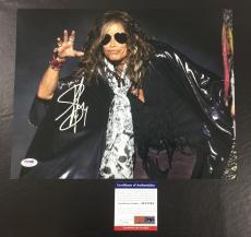 Steven Tyler Signed Autograph Aerosmith Get A Grip 11x14 Photo Psa/dna Coa 2