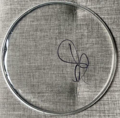 Steven Tyler Signed Autograph Aerosmith Rare Clear Full Drumhead Coa