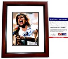 Steven Tyler Signed - Autographed Aerosmith 8x10 inch Photo with PSA/DNA Authenticity MAHOGANY CUSTOM FRAME