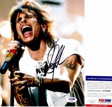 Steven Tyler Signed - Autographed Aerosmith 8x10 inch Photo with PSA/DNA Authenticity