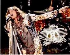 Steven Tyler Signed - Autographed Aerosmith Concert 11x14 inch Photo - Guaranteed to pass PSA or JSA
