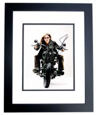 Steven Tyler Signed - Autographed Aerosmith Singer 11x14 inch Photo BLACK CUSTOM FRAME - Guaranteed to pass PSA or JSA