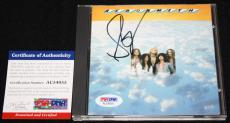 Steven Tyler signed CD, Aerosmith, Get a Grip, Pump, PSA/DNA AC54055