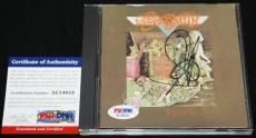 Steven Tyler signed CD, Toys in the Attic,Aerosmith, Get a Grip, PSA/DNA AC54054