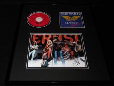 Steven Tyler Signed Framed 16x20 Aerosmith Classics Live CD & Photo Display AW
