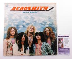 Steven Tyler Signed LP Record Album Aerosmith Debut Album w/ JSA AUTO