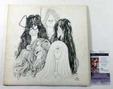 Steven Tyler Signed LP Record Album Aerosmith Draw the Line w/ JSA AUTO