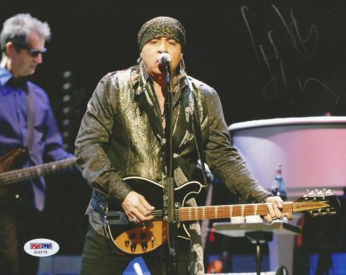 Steven Van Zandt E Street Band Signed Autograph 8x10 Photo PSA/DNA COA (B)