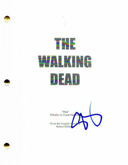 Steven Yeun Signed Autograph - The Walking Dead Pilot Script - Norman Reedus