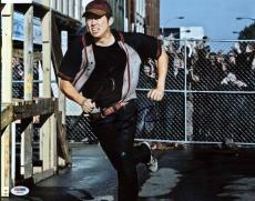 Steven Yeun The Walking Dead Signed 11X14 Photo PSA/DNA #W24487