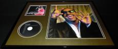 Stevie Wonder 16x20 Framed Icon CD & Photo Display