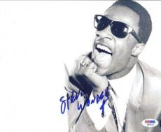 Stevie Wonder Autographed Signed 8x10 Photo PSA/DNA #Q90450