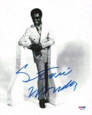 Stevie Wonder Autographed Signed 8x10 Photo PSA/DNA #Q90453