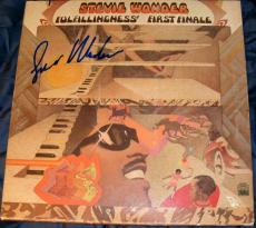 Stevie Wonder Signed Autograph Original Fulfillingness' First Finale Album Vinyl