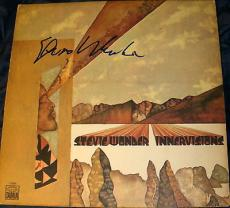 "Stevie Wonder Signed Autograph Original ""innervisions"" Album + Vinyl Lp Proof"