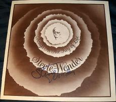 """Stevie Wonder Signed Autograph Original """"songs In The Key Of Life"""" Lyric Book"""