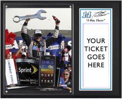 """Tony Stewart 2012 Kobalt Tools Winner """"I Was There"""" 12"""" x 15"""" Plaque"""