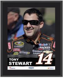 "Tony Stewart Sublimated 10.5"" x 13"" Plaque - Mounted Memories"