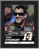 "Tony Stewart Sublimated 10.5"" x 13"" Plaque"