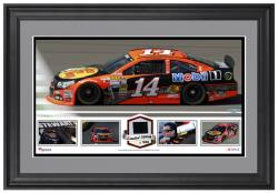 Tony Stewart Framed Panoramic with Race-Used Tire-Limited Edition of 500 - - Mounted Memories