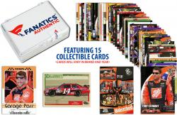 Tony Stewart Collectible Lot of 15 NASCAR Trading Cards - Mounted Memories