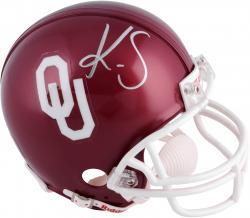 Kenny Stills Oklahoma Sooners Autographed Riddell Mini Helmet