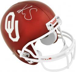 Kenny Stills Oklahoma Sooners Autographed Riddell Replica Helmet