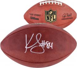 Kenny Stills Oklahoma Sooners Autographed Wilson Pro Football  - Mounted Memories