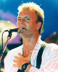 Sting 8x10 Photo Glossy Image #2 The Police