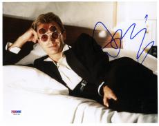 """Sting Autographed 8""""x 10"""" Laying in Bed with Glasses Photograph - PSA/DNA COA"""