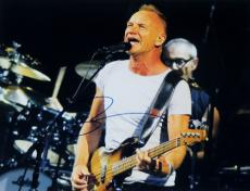 Sting Signed - Autographed concert 11x14 Photo - THE POLICE