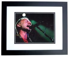 Sting Signed - Autographed Concert 8x10 Photo BLACK CUSTOM FRAME