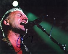 Sting Signed - Autographed Concert 8x10 Photo