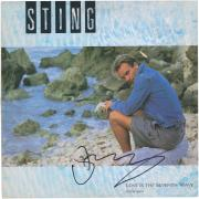 Sting Autographed Love Is The Seventh Day Album - PSA