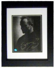 Sting autographed photo framed matted 8x10 (The Police)