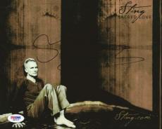 Sting Autographed Signed 8x10 Photo PSA/DNA #Q89215