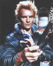 Sting Dune Autographed Signed 8x10 Photo Certified Authentic PSA/DNA