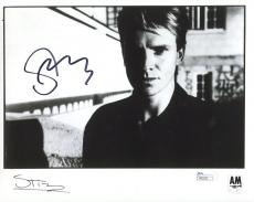 STING HAND SIGNED 8x10 PHOTO         AWESOME+RARE       THE POLICE          JSA