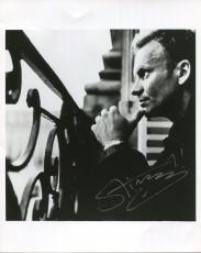 STING HAND SIGNED 8x10 PHOTO+COA      AWESOME POSE     THE POLICE