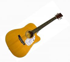 Sting Police Autographed Signed Acoustic Guitar AFTAL UACC RD COA